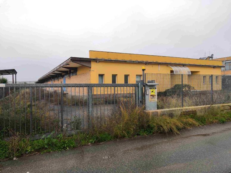 Complesso immobiliare a destinazione industriale in Pomezia