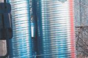 CENTRALE DI TRATTAMENTO ARIA-SISTEMA DI REGOLAZIONE COSTER-SERIE DI TUBAZIONI IN ACCIAIO